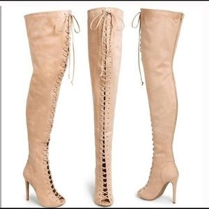 Zigi girl piarry thigh high boots